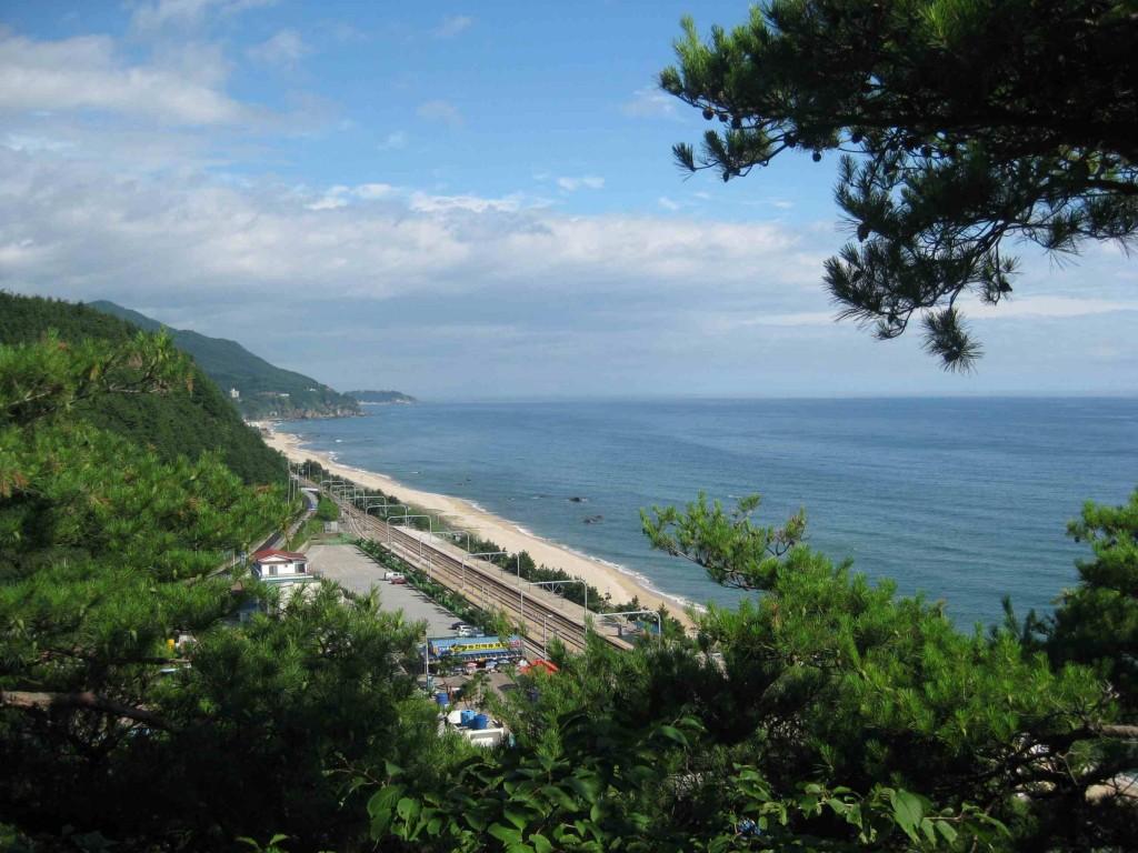 Railway Line Jeongdongjin