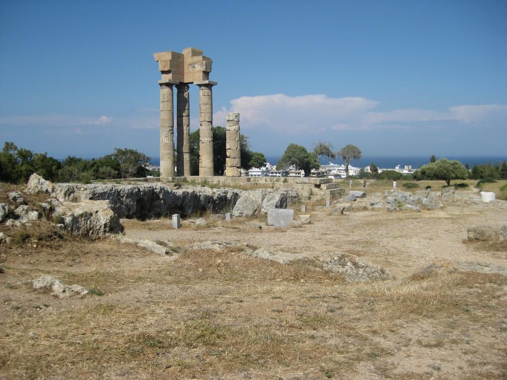 Apollo Temple, Rhodes