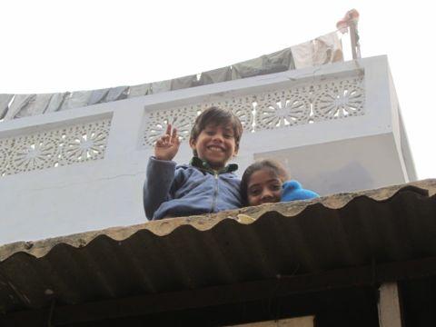 Kids in Delhi