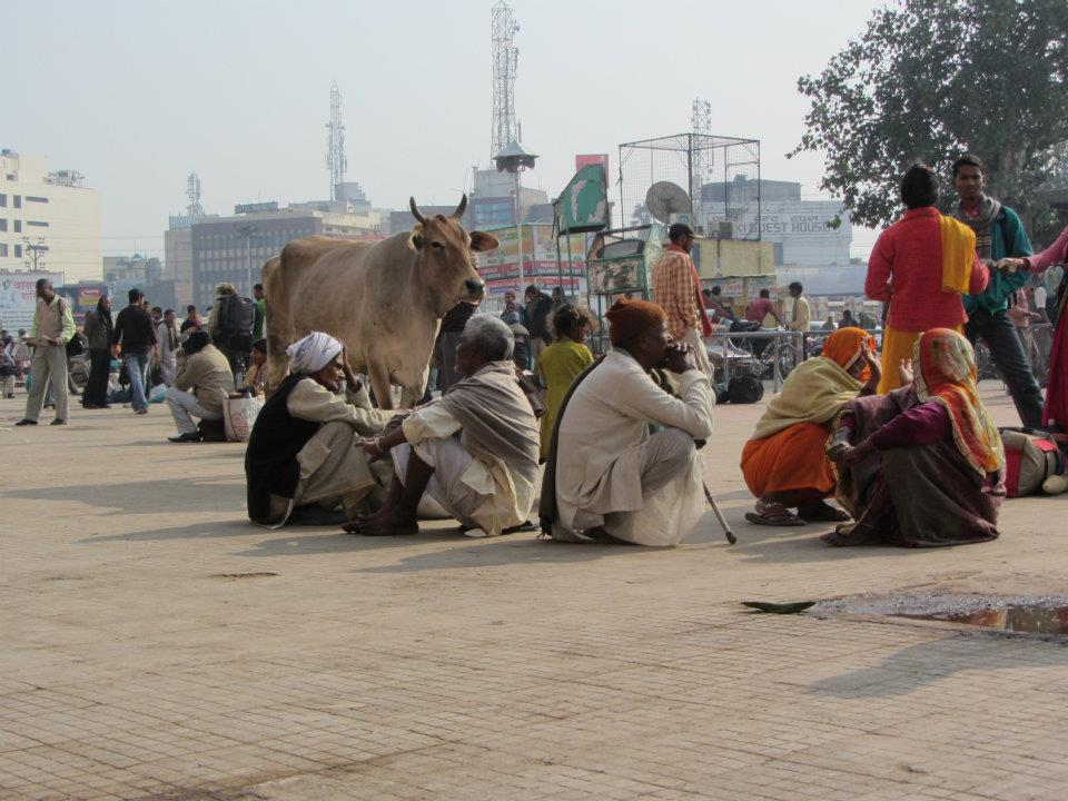 Varanasi train station