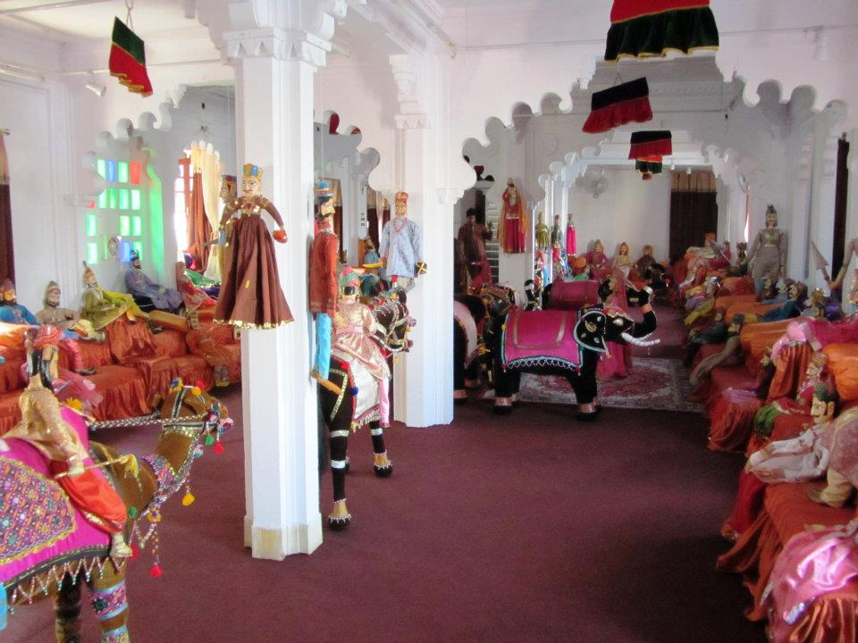 Puppet room Bagore-ki-haveli