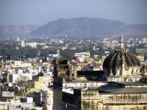 Udaipur cityscape