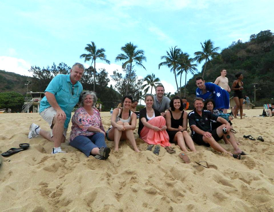 Family photo Hawaii