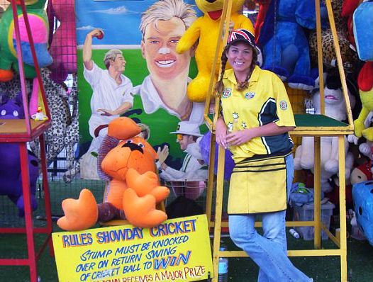 Showday Cricket at the Sydney Royal Easter Show