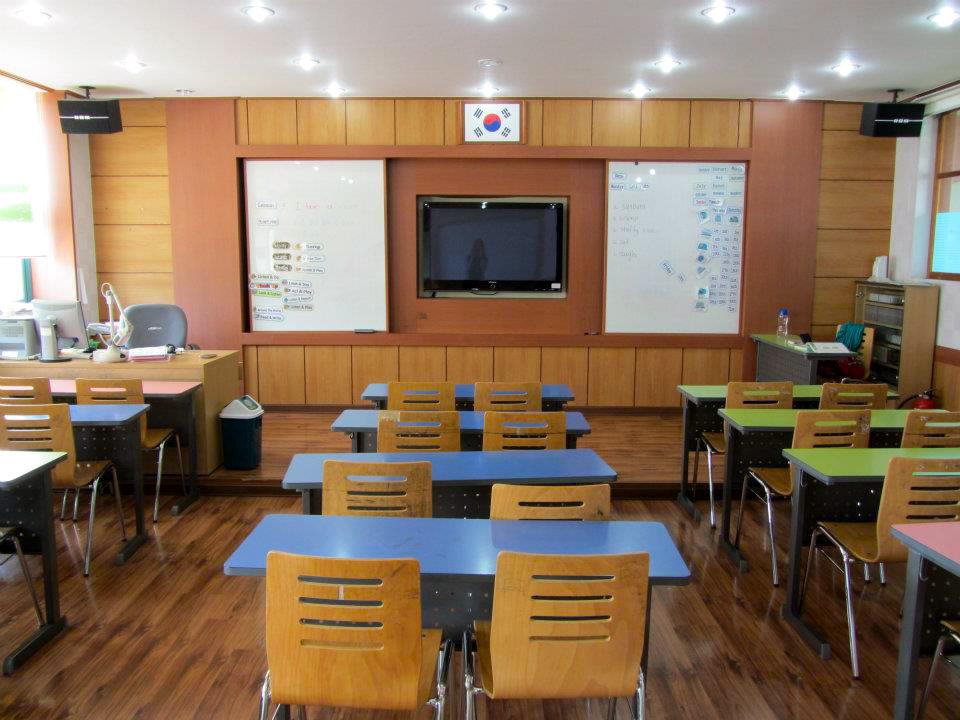English Classroom Yeongwol Korea
