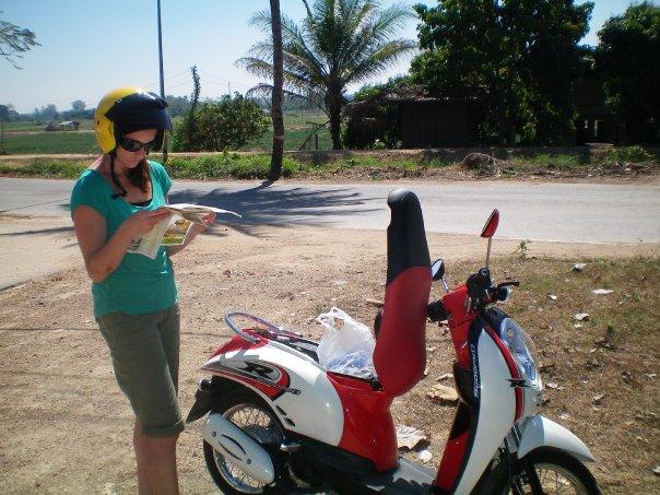 Chiang Mai, Thailand - motorbikes