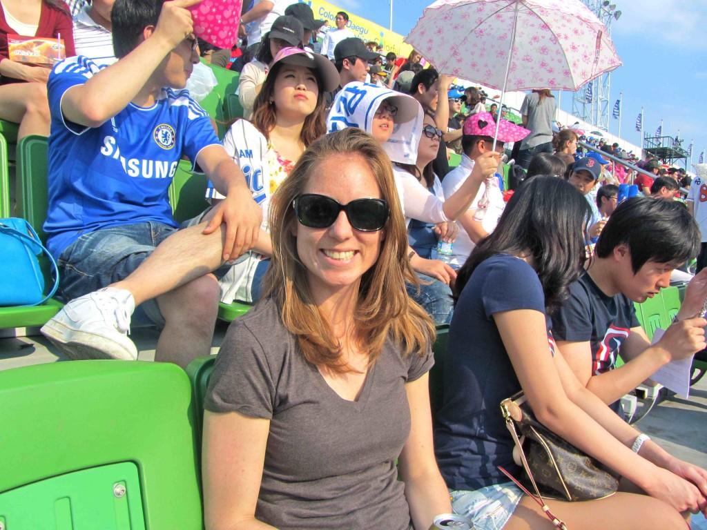 Samsung Lions baseball - Daegu - Korea