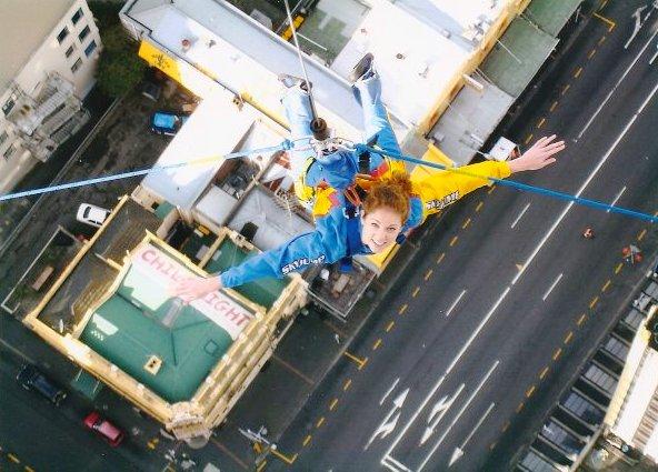 Sky jump - Auckland - New Zealand