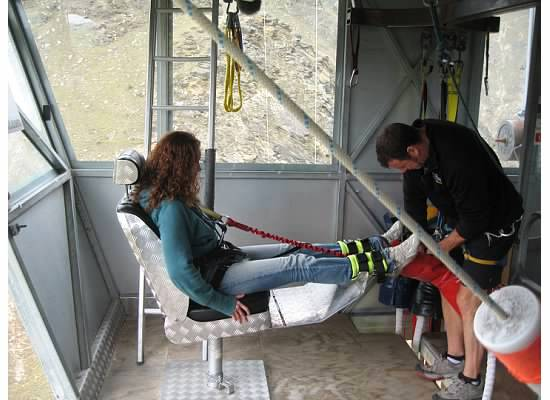 Nevis bungy jump, Queenstown, New Zealand