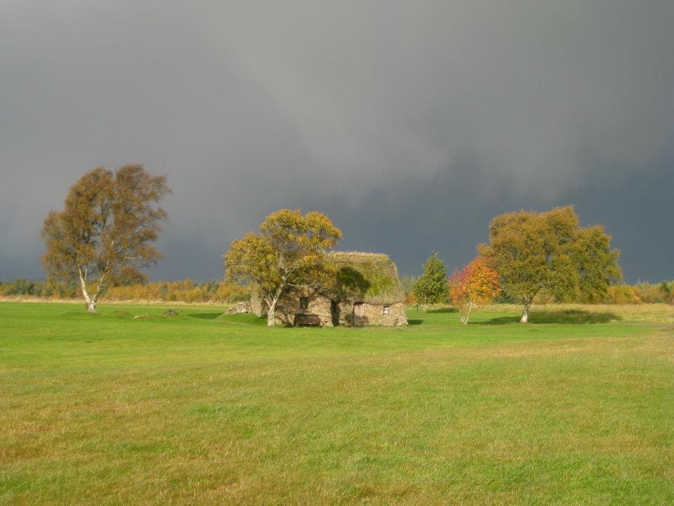 Old Leanach cottage, Culloden Battlefield, Scotland