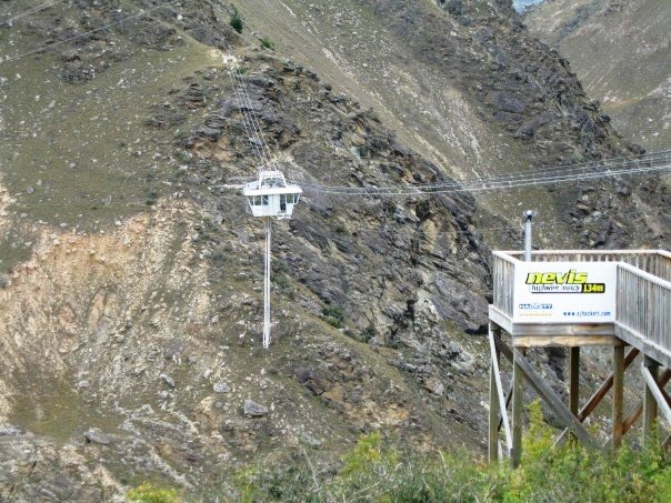 The Nevis Bungy Jump - Queenstown - New Zealand