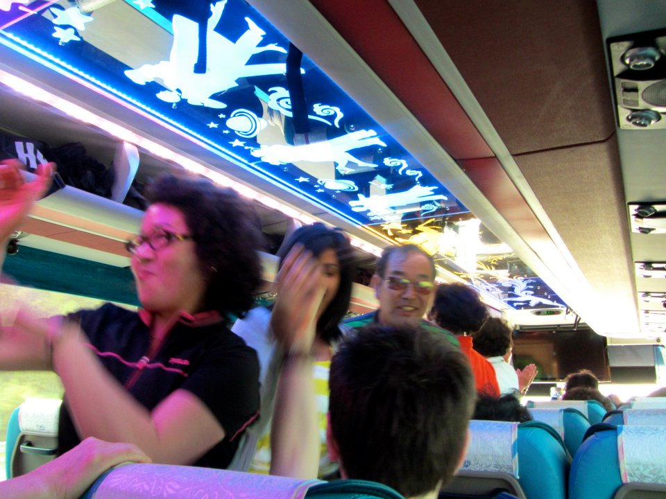 Penis Park - Haesindang - Samcheok - Korea - Karaoke bus