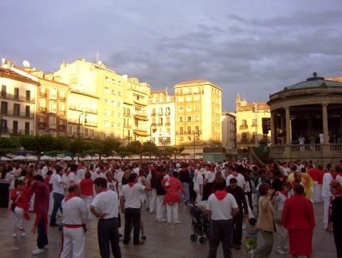 Sunrise in Pamplona