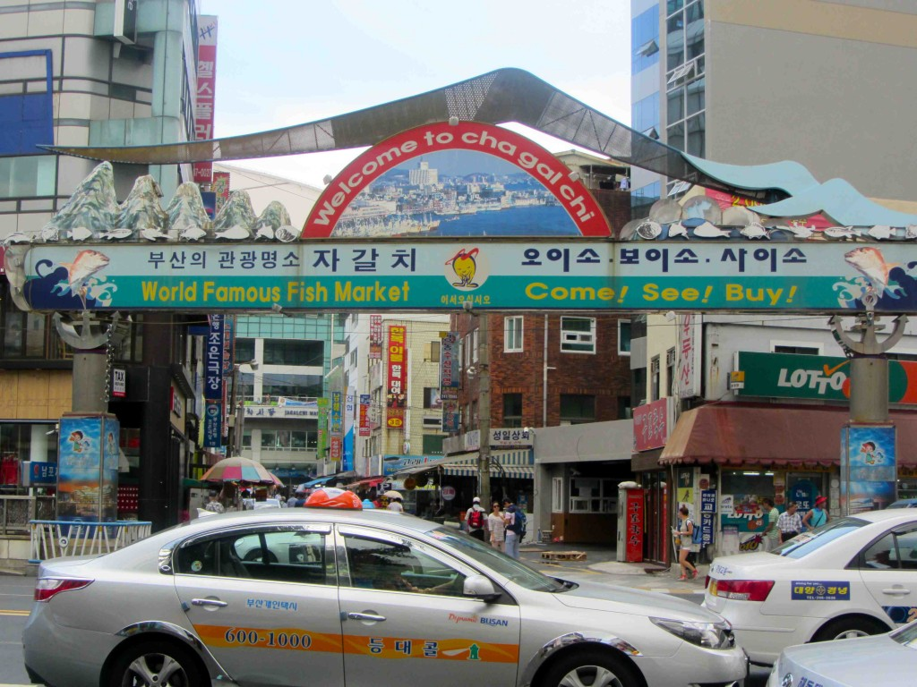 Fish Market in Busan, Korea