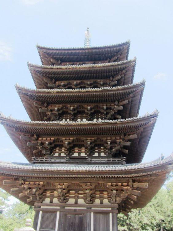 Pagoda in Nara, Japan