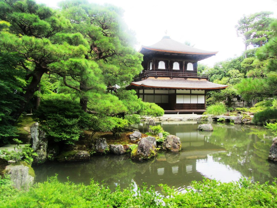 Silver Pavilion, Kyoto, Japan