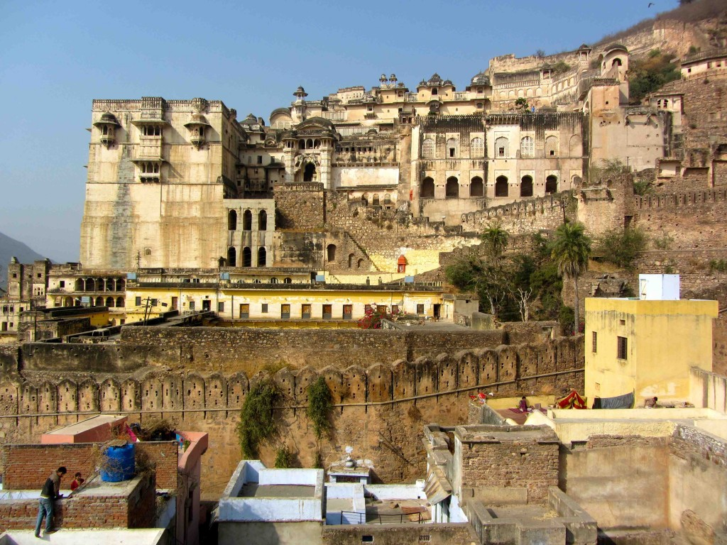 Bundi Palace, Bundi, Rajasthan, India