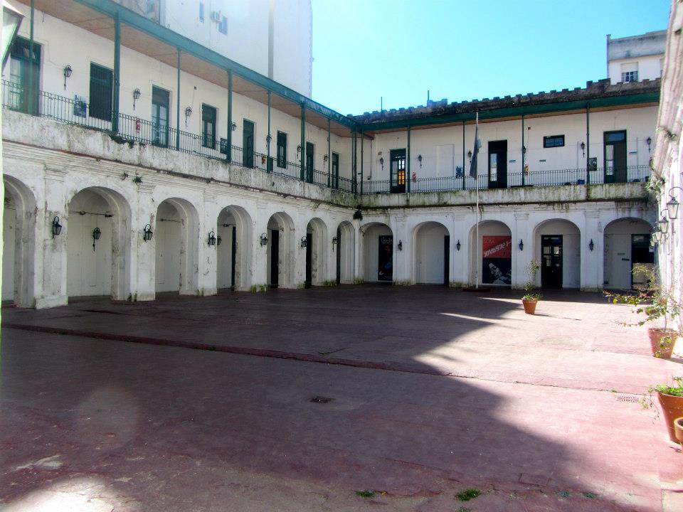 Courtyard of Museo Penitenciario, San Telmo, Buenos Aires