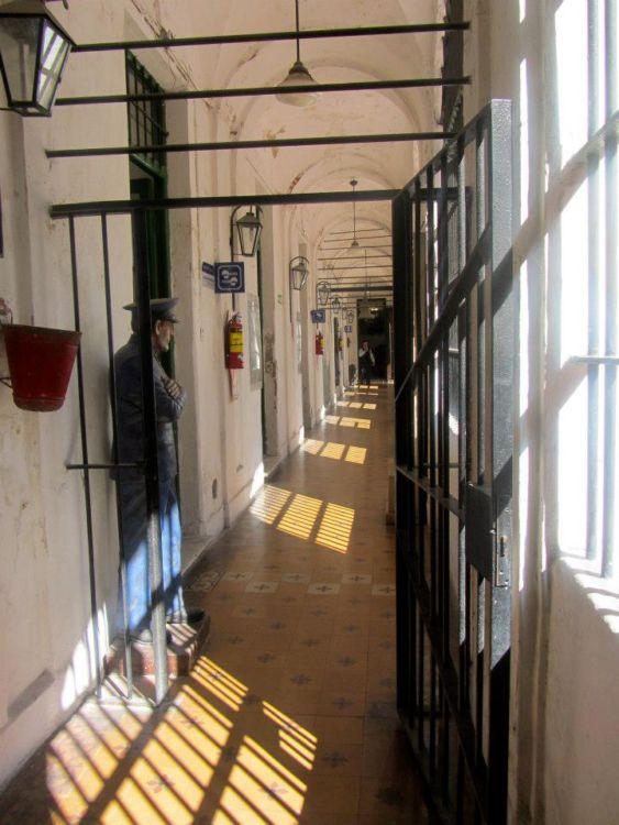 Hallway Museo Penitenciario San Telmo Buenos Aires
