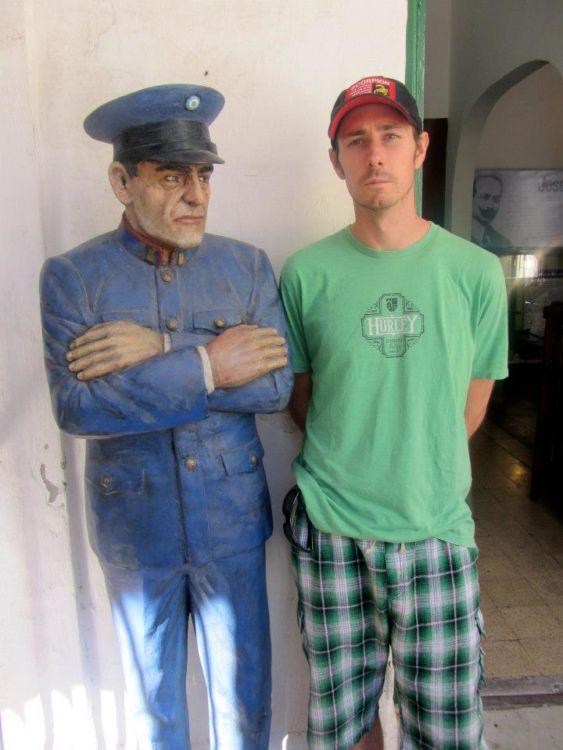 Prison guard, San Telmo, buenos aires