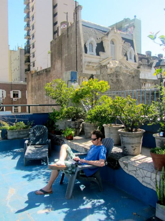 Rooftop in San Telmo, Buenos Aires