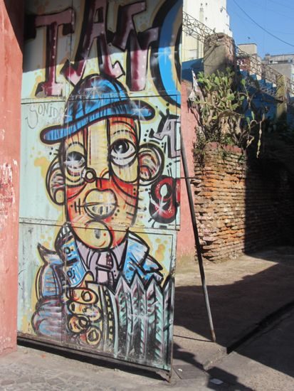 Street art in San Telmo