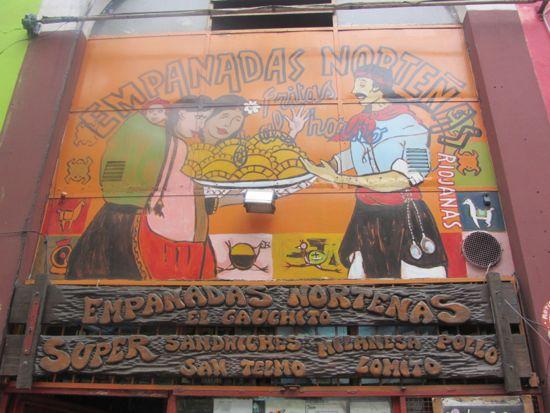 El gauchito, San Telmo, Buenos Aires