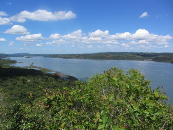 View of Paraguay from San Ignacio