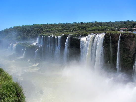 View from Devil's Throat, Iguazu