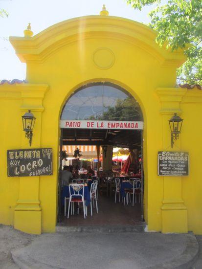 Patio de la empanada, Salta