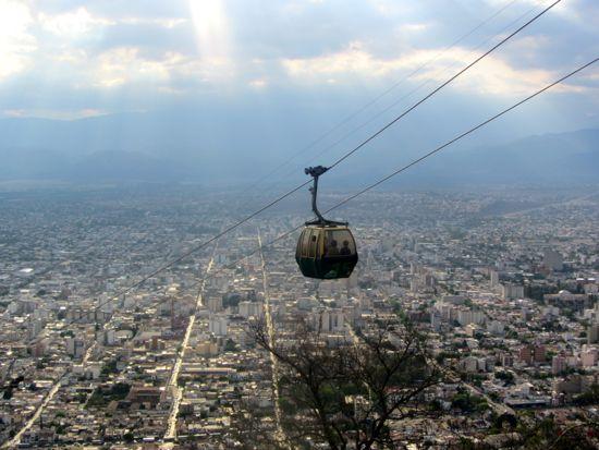 Gondola in Salta, Argentina