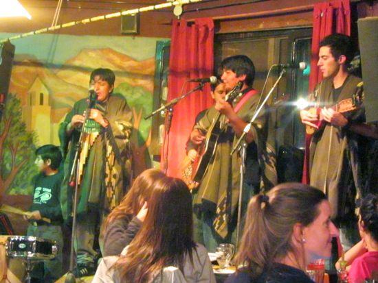 Musicians in Tilcara