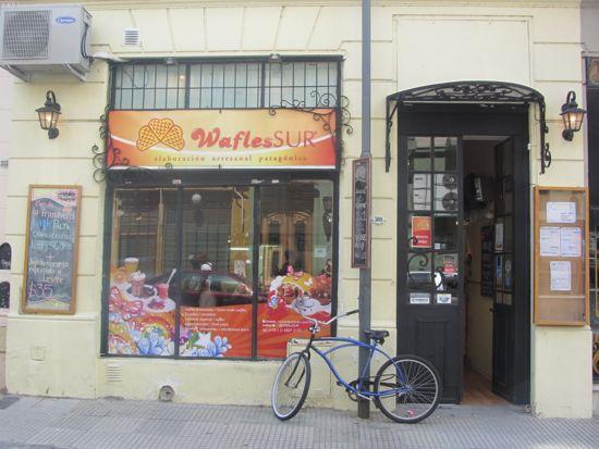 Wafels del Sur, San Telmo, Buenos Aires