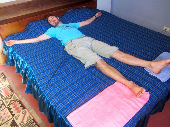 Huge bed in Rosillas