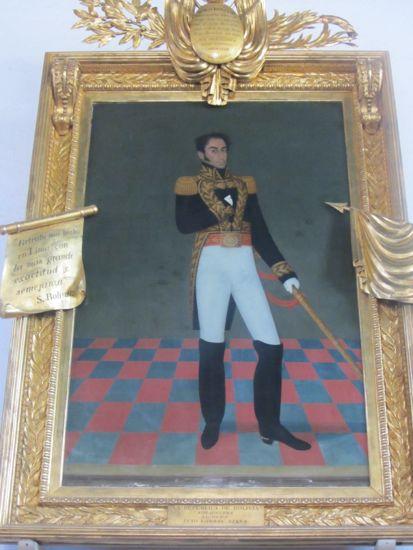 Simon Bolivar, Sucre