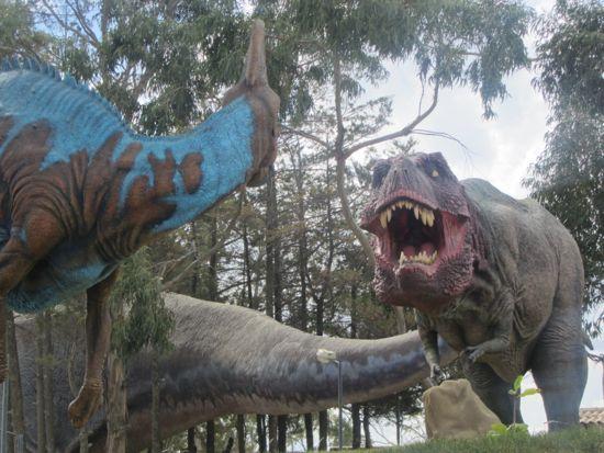 Dinosaurs in Bolivia