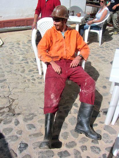 Mining tour in Potosi, Bolivia