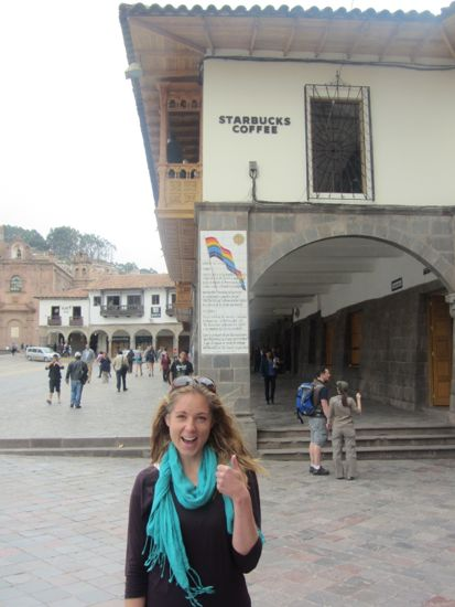 Starbucks in Cusco