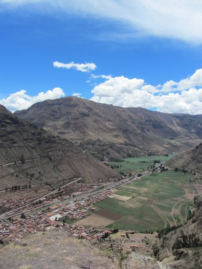 Views from Pisac ruins, Peru
