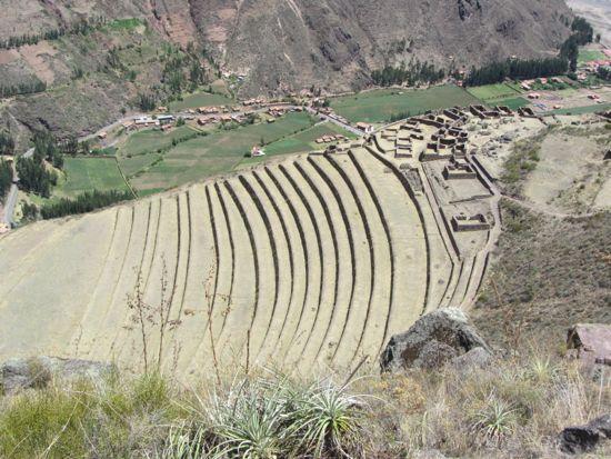 Terraced hills of Pisac