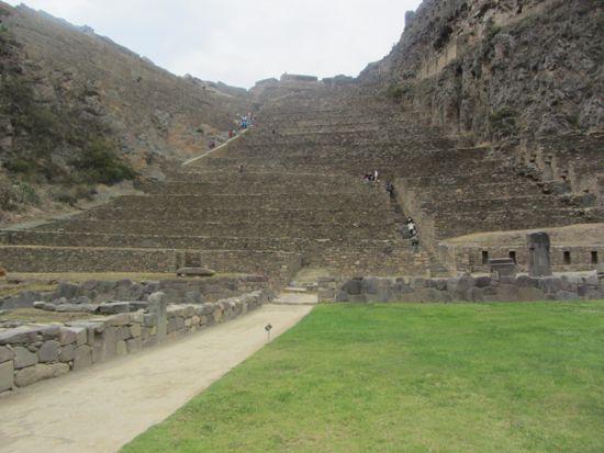 Terraces of Ollantaytambo, Peru