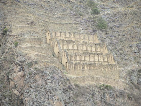 Storehouses of Ollantaytambo, Peru