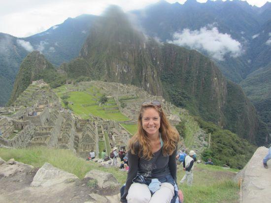 Lauren and Machu Picchu