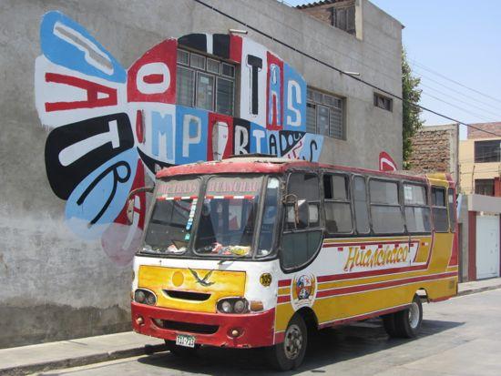 Huanchaco bus