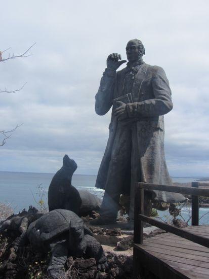 Charles Darwin, San Cristobal, Galapagos