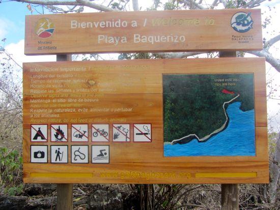 Playa Baquerizo, San Cristobal, Galapagos