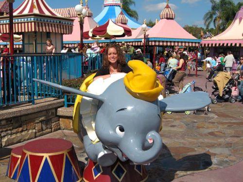 Dumbo in Disney World