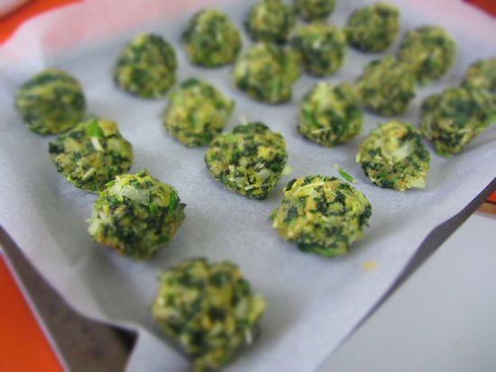 Spinach balls