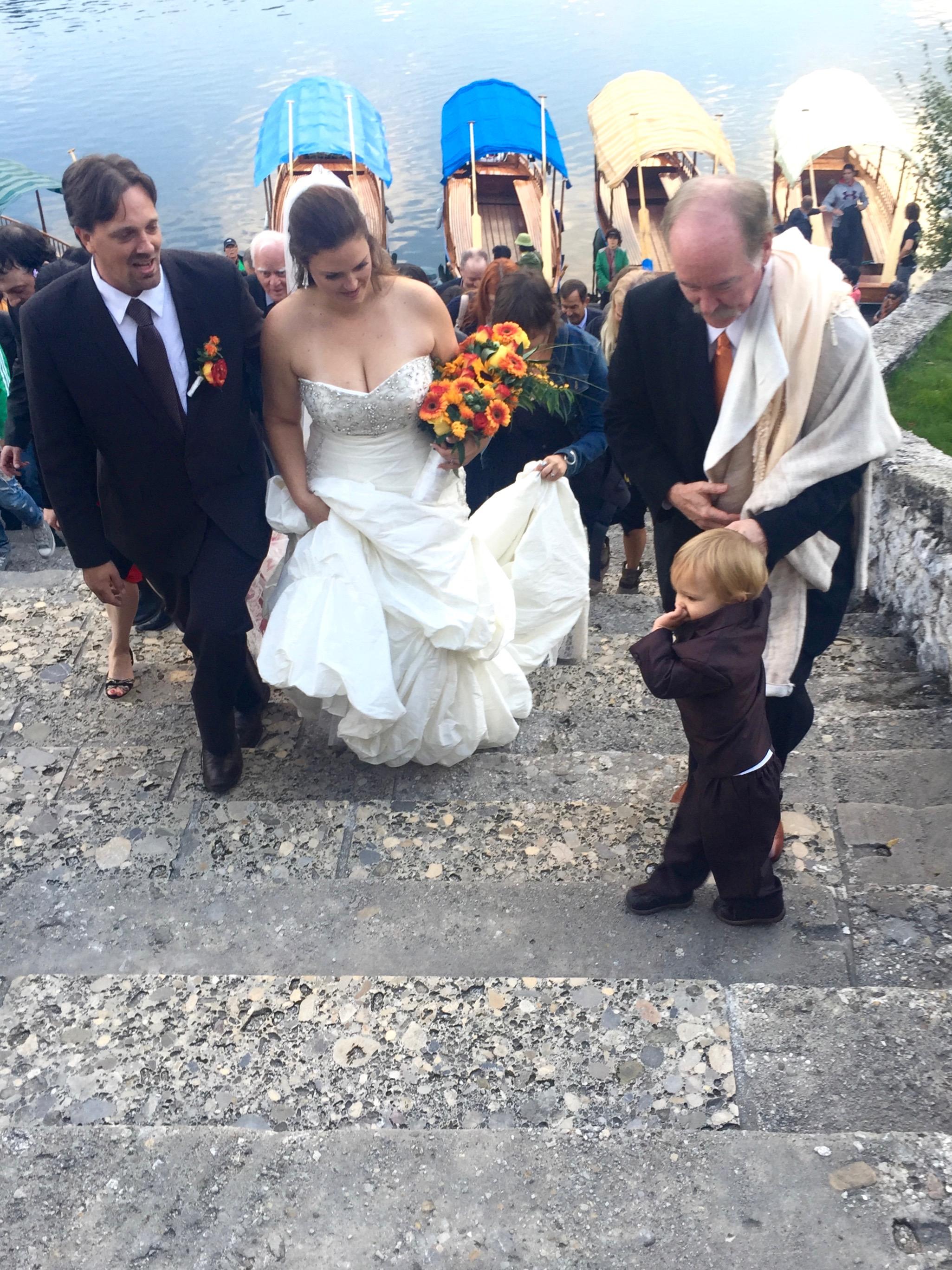 Wedding at Bled