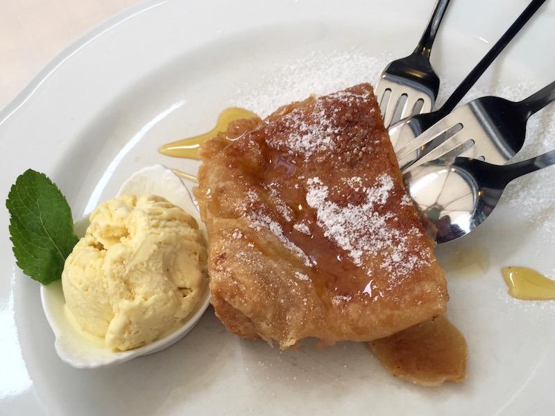 dessert at Julija